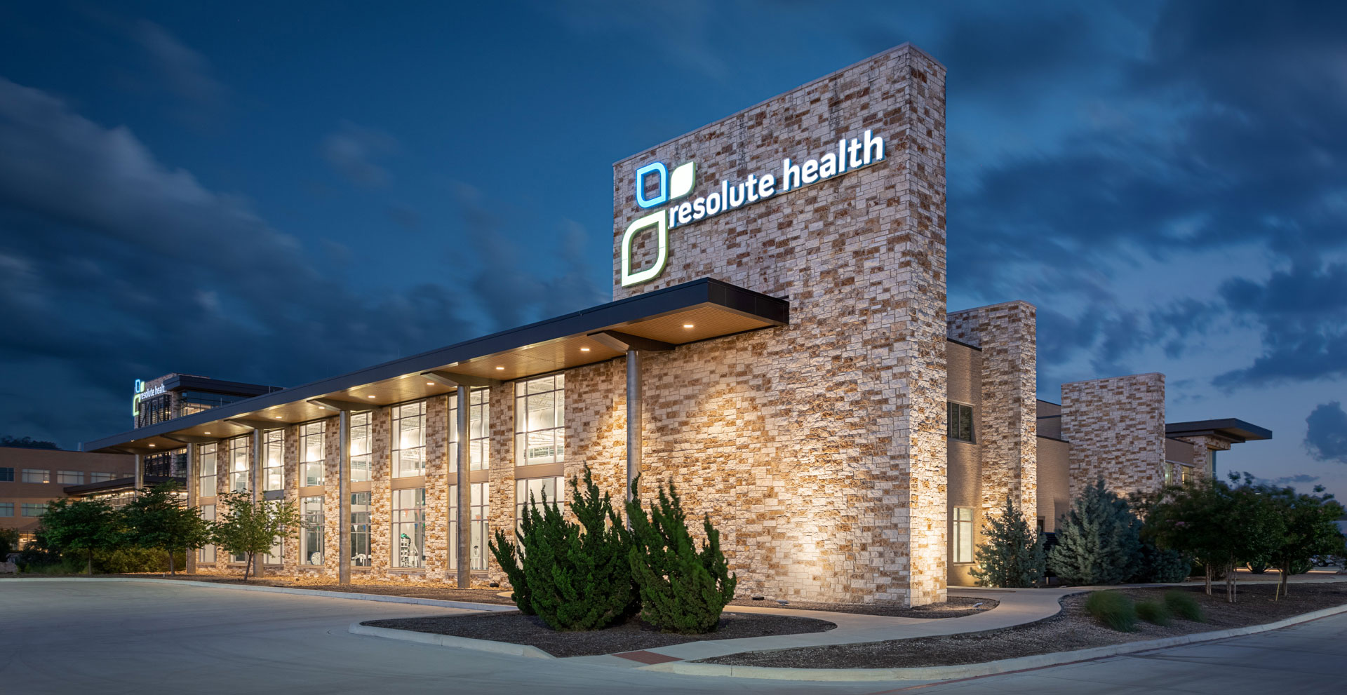 resolute health medical office building